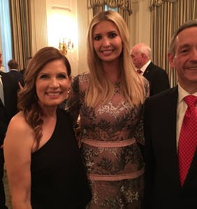"Ivanka Trump rubs elbows, poses for selfies with ""who's who"" of America's homophobic upper crust"
