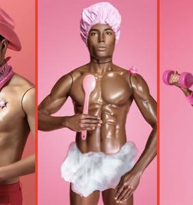 """PHOTOS: This """"Sexy Ken"""" photo series is about breaking down plastic gay stereotypes"""