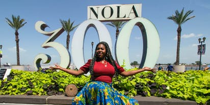 "PHOTOS: This goddess shows you how New Orleans invites your beautiful ""authentic self"""