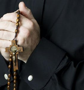 Gang of priests forced boys to strip naked, pose for photos as Christ on the cross, report claims