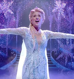Watch what happens when a Trump supporter tried to troll Disney's 'Frozen' on Broadway