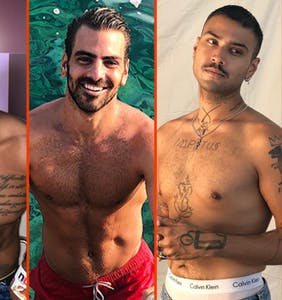 Russell Tovey's blindfold, Robbie Rogers' playdate, & Nyle DiMarco's last summer swim