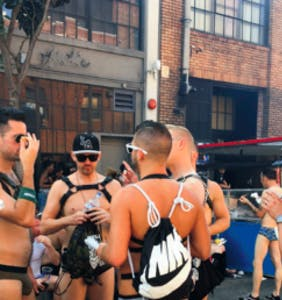PHOTOS: Folsom Street Fair is all about the kinky guys. But don't forget the amazing food.