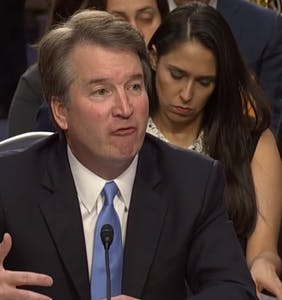 Brett Kavanaugh is discovering that karma is a…well, you know
