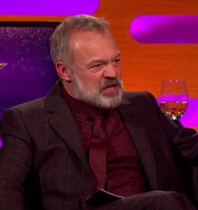 Graham Norton has some strong opinions on all you Tinder users out there