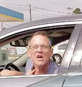 "Gay Trump supporter who chased down Latina woman with his car insists he's ""not a racist"""