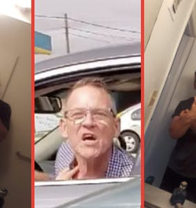 "Twitter blasts ""toothless racist"" Charles Geier after he chases down Latina woman with his car"