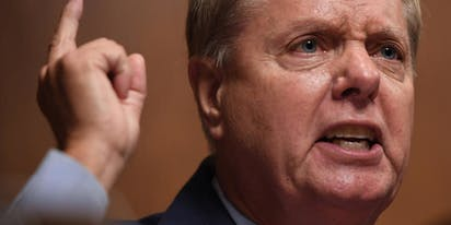 "Lindsey Graham goes on TV to whine about how everybody ""hates my guts"""