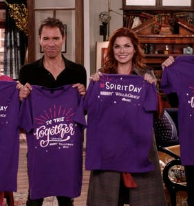 WATCH: Happy Spirit Day from Queerty and 'Will & Grace'