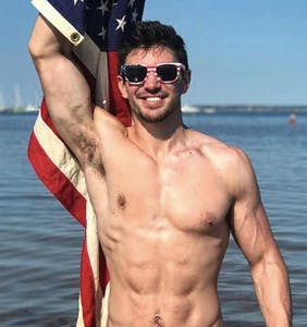 Steve Grand wants you to feel Key West pride when you wear your Speedo