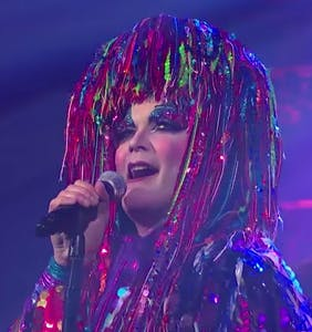 WATCH: Taylor Mac dazzles 'Late Show' crowd with glitter, politics, pizazz