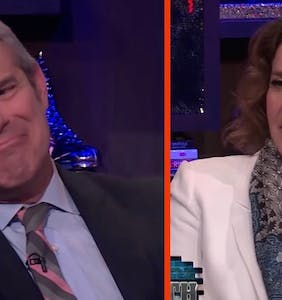 WATCH: Andy Cohen needed a drink after this painfully awkward interview