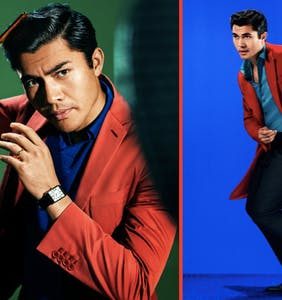 We're crushing hard on Henry Golding as he makes history as the first Asian man to grace a GQ cover