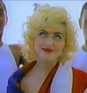 "First-ever ""Rock The Vote"" PSA featuring Madonna resurfaces just in time for this year's election"