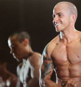 "These smokin' hot trans bodybuilders in the new doc ""Man Made"" have us totally parched"