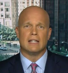 The acting Attorney General helped market a toilet for 'well-endowed men'