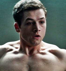 Taron Egerton wants you to know he finds kissing men just as satisfying as kissing women on screen