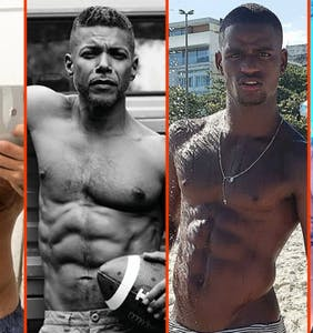 Luke Evans' speedo, Ronnie Woo's munchies, & Ricky Martin's beach wrap