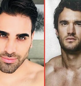Hunky TV doctor Ranj Singh talks about that time he hooked up with Thom Evans… on the dance floor