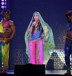 PHOTOS: Cher kicks off her tour with wings, sequins and male dancers