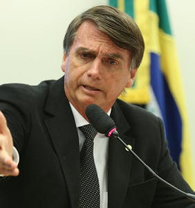 Brazil's homophobic president borrows a play from Trump, tweets video of men urinating on each other