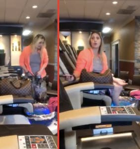 "Woman launches into antigay tirade against man getting pedicure, screams ""Eat my p*ssy! Eat it!"""
