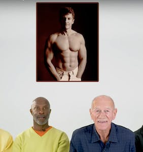 Older gays reflect on thirsty photos of their younger selves