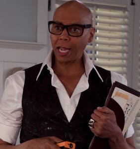 """RuPaul isn't playing around in the """"Grace and Frankie"""" season 5 preview"""