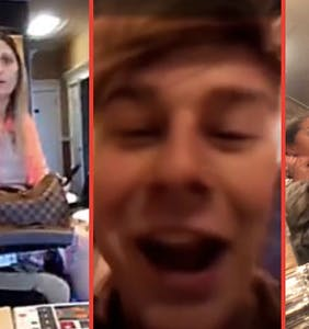 """Eat my p*ssy! Eat it!"": Six vile homophobic rants caught on tape"