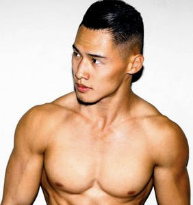 Everyone's gagging over Wilson Lai, the Pit Crew's hunkiest new member