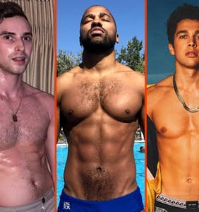 Nyle DiMarco's bed time, Tommy Dorfman's tan line, & Austin Mahone's pin-up