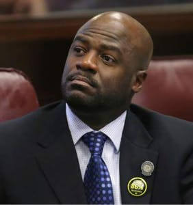 The country's first openly gay, black state Senate majority leader just resigned in disgrace