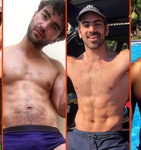 Matthew Camp's arch, Tom Daley's angles, & Milan Christopher's new 'do