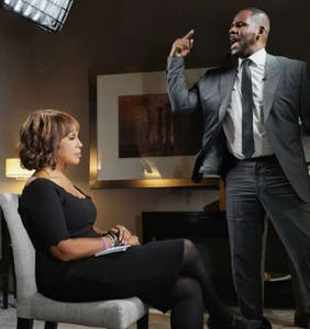 Gayle King reveals what was going through her head when R. Kelly flipped out on her