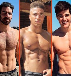 Matthew Camp's new booty, Matthew Mitcham's shower, & Pietro Boselli's rooftop gym
