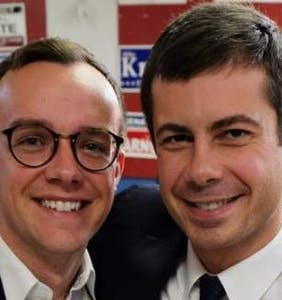 Major drama went down in Pete Buttigieg's kitchen yesterday and it's all Lin-Manuel Miranda's fault