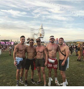 After posing for pic with Aaron Schock at Coachella, Will & Rob put out statement denouncing bigotry