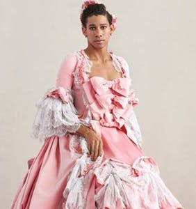 Keiynan Lonsdale lands in the pages of 'Vogue'…in drag