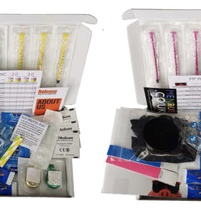 Chemsex survival kits come with color-coded syringes and a booklet on what to do if you're arrested