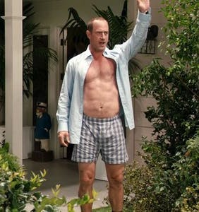Daddy hunk Christopher Meloni releases dramatic reading of tweets about his hotness