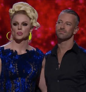 Courtney Act and her same-sex partner lose 'Dancing with the Stars' despite always scoring highest