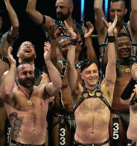 International Mr. Leather will soon repeal its ban on businesses that promote condomless sex