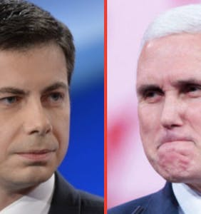Pete Buttigieg claps back at Mike Pence, says he needs to stop being such a sniveling homophobe