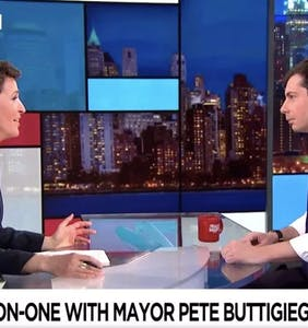 Rachel Maddow and Pete Buttigieg exchange powerful coming out stories in moving interview