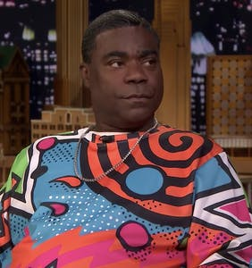 Tracy Morgan has compelling evidence that Jussie Smollett is lying and it's all in the sandwich