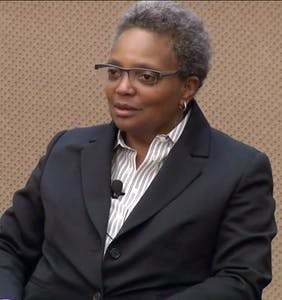 Chicago swears in Lori Lightfoot, city's first black lesbian mayor