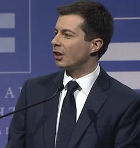 Mayor Pete Buttigieg talks privilege and prejudice in inspiring address to LGBTQ crowd