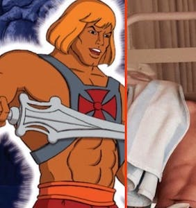 PHOTOS: Noah Centineo tapped to wear He-Man's iconic harness and speedo