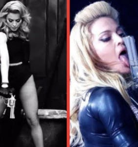 Madonna needs to address her own gun fetish before she starts sampling school shooting survivors