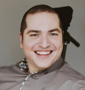 Andrew Gurza created #DisabledPeopleAreHot, but that's just the start of his pride